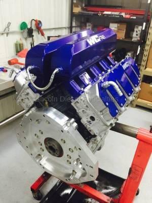 WCFab - Wehrli Custom Fab Duramax Billet Rear Engine Adapter Plate (2001-2016)