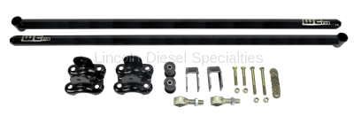 "Suspension - Traction Bars - WCFab - Wehrli Custom Fab Duramax 60"" Traction Bar Kit (RCLB/CCSB/ECSB) 2001-2010"