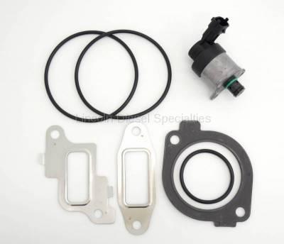 Engine - Engine Gasket Kits - Lincoln Diesel Specialities - OEM Genuine LBZ/LMM Fuel Pressure Regulator Kit (2006-2010)