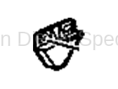 06-07 LBZ Duramax - Heating & Air Conditioning - GM - GM OEM Air Conditioning  Upper Right Condenser Bracket (2001-2014)*