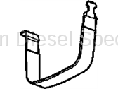 11-16 LML Duramax - Oil, Fluids, Additives, Grease, and Sealants - GM - GM OEM Emission System  Fuel Tank Strap (2011-2016)