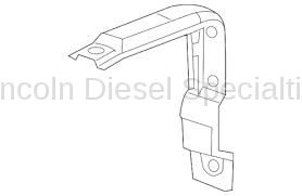 11-16 LML Duramax - Oil, Fluids, Additives, Grease, and Sealants - GM - GM OEM Front DEF Tank Bracket (2011-2016)
