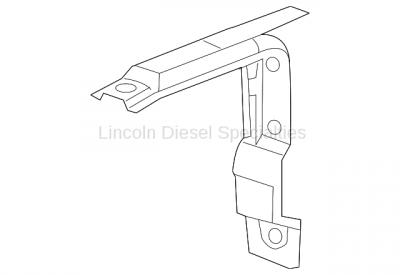 11-16 LML Duramax - Oil, Fluids, Additives, Grease, and Sealants - GM - GM OEM Rear Bracket Emission Fluid Tank Support (2011-2016)