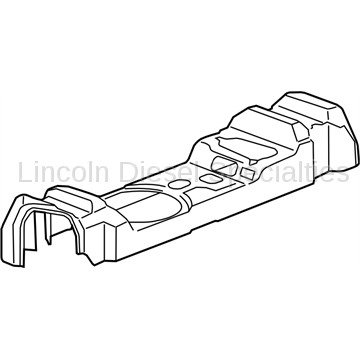 GM OEM Emission Upper Fuel Tank Insulator (2011-2016)