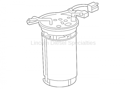 11-16 LML Duramax - Oil, Fluids, Additives, Grease, and Sealants - GM - GM OEM Reservoir Kit-Emission Reduction Fluid Tank (2011)
