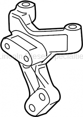 11-16 LML Duramax - Oil, Fluids, Additives, Grease, and Sealants - GM - GM OEM Emissions By-Pass Valve Bracket (2011-2016)*