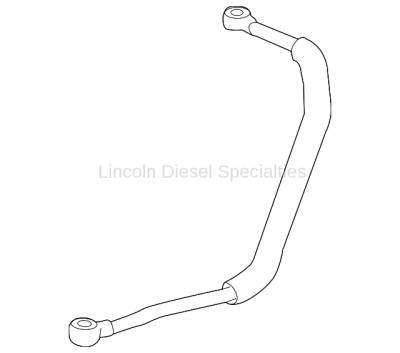 Turbo Kits, Turbos, Wheels, and Misc - Hardware, Pedestals, Accessories - GM - GM OEM Turbo Oil Feed Pipe (2011-2016)