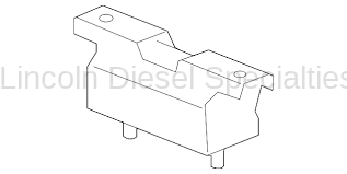 Transmission - Components - GM - GM OEM Duramax Transmission Motor Mount (2011-2016)