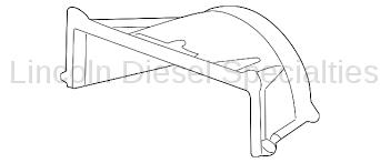 Cooling System - Radiators, Tanks, Reservoirs and Parts - GM - GM OEM Radiator Cooling Upper Shroud (2011-2014)