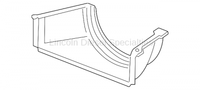 Cooling System - Radiators, Tanks, Reservoirs and Parts - GM - GM OEM Radiator Cooling Lower  Shroud (2011-2014)