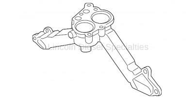 Cooling System - Thermostats-Water Pumps-Housings-Parts - GM - GM OEM Thermostat Housing (2011-2016)*