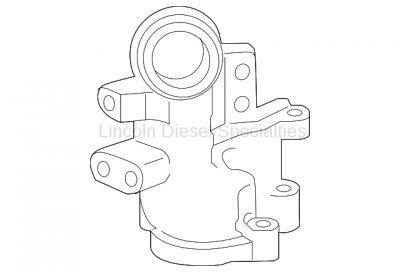 Cooling System - Hoses, Hose Kits, Pipes and Clamps - GM - GM OEM Thermostat Housing Outlet Pipe (2011-2016)