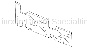 Fuel System - OEM Fuel System - GM - GM OEM Fuel Tank Side Protection Shield, 6.5Ft. Box (2011-2018)