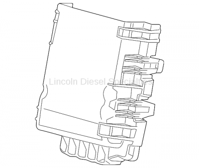 Engine - Sensors and Electrical - GM - GM OEM Junction Block Cover (2015-2018)