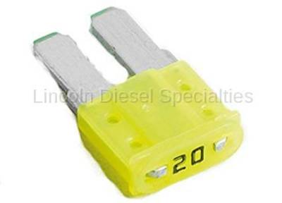 Engine - Sensors and Electrical - GM - GM OEM Multi Use 20 Amp Mini Fuse (2015-2018)