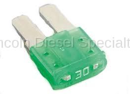 Engine - Sensors and Electrical - GM - GM OEM Multi Use 30 Amp Mini Fuse (2015-2018)