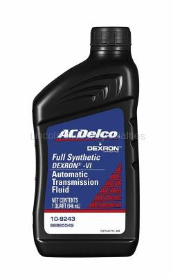 06-07 LBZ Duramax - Oil, Fluids, Additives, Grease, and Sealants - GM - GM AC Delco Dexron VI Full Synthetic Automatic Transmission Fluid QT. (2001-2019)