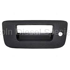 11-16 LML Duramax - Exterior Accessories - GM - GM OEM Tailgate Handle Bezel With Key Hole (2007.5-2014)