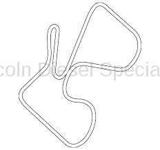 GM OEM Replacement Dual Alternator Serpentine Belt (2017-2018)