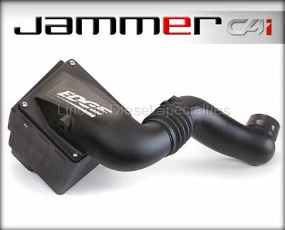 2004.5-2007  24 Valve, 5.9L Late - Air Intake - Edge - Edge Products Jammer Cold-Air Intake with Dry Filter, Dodge RAM 5.9L (2003-2007)