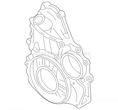 Engine - Components - GM - GM OEM Front Timing Cover (2004.5-2005)