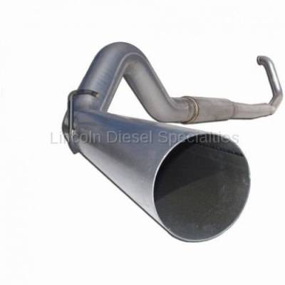 "Exhaust Systems - 5 Inch Systems - MBRP - MBRP Dodge/Cummins 5"" Turbo Back, Single Side Exit, P (2003-2004)*"