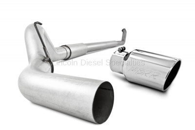 "Exhaust Systems - 5 Inch Systems - MBRP - MBRP Dodge/Cummins 5"" Turbo Back, Single Side Exit, T409 (2003-2004)**"