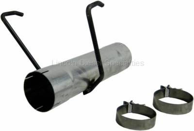 "Exhaust - Exhaust Systems - MBRP - MBRP Dodge/Cummins 17"" Muffler Delete Pipe, Aluminized (2007.5-2012)"