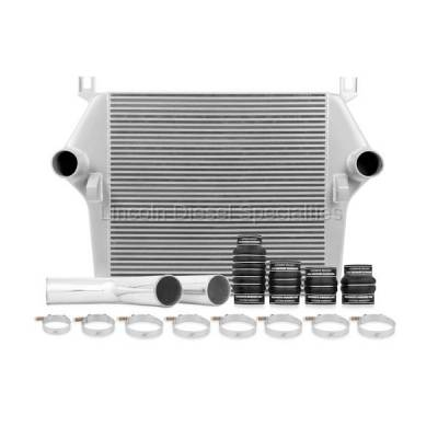 2003-2004 24 Valve, 5.9L Early - Intercoolers and Pipes - Mishimoto - Mishimoto Dodge /Cummins, 5.9L Intercooler Kit w/Pipes, Silver (2003-2007)