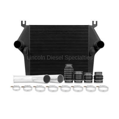 2003-2004 24 Valve, 5.9L Early - Intercoolers and Pipes - Mishimoto - Mishimoto Dodge /Cummins, 5.9L Intercooler Kit w/Pipes, Black (2003-2007)