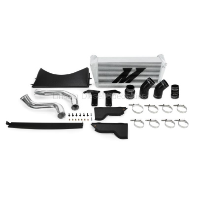 2010-2012 24 Valve 6.7L - Intercoolers and Pipes - Mishimoto - Mishimoto Dodge /Cummins, 6.7L Intercooler Kit w/Pipes, Silver (2013-2018)