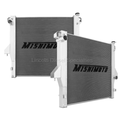 Cooling System - Radiators-Tanks-Reservoirs-Parts - Mishimoto - Mishimoto Dodge/Cummins, 6.7L Aluminum Radiator (2010-2012)
