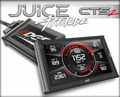2013-2020 24 Valve 6.7L - Tuners and Programmers - Edge - Edge Products Dodge/Cummins 6.7L Juice with Attitude CTS2 Monitor (2007.5-2012)