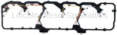 Engine - Engine Gasket Kits - Mahle OEM - Mahle Dodge/Cummins 5.9/6.7L, Valve Cover Gasket w/Wiring Harness (2006-2014)