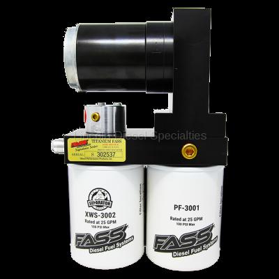 Lift Pumps - FASS - Fass - FASS Titanium Signature Series Diesel Fuel Lift Pump, 165GPH (2005-2018)