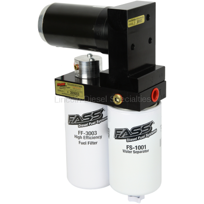 Lift Pumps - FASS - Fass - FASS Titanium Signature Series High Performance Diesel Fuel Lift Pump, 250GPH (2005-2018)