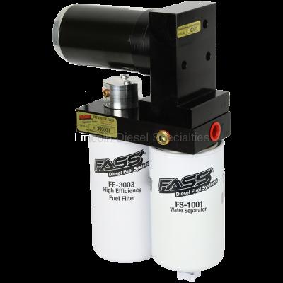 Lift Pumps - FASS - Fass - FASS Titanium Signature Series Diesel Fuel Lift Pump, 290GPH (2005-2018)