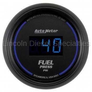 "Instrument Clusters/Gauges - Gauges - Auto Meter - Auto Meter Cobalt Digital Series, 2-1/16"" FUEL PRESSURE, 5-100 PSI (Universal)"