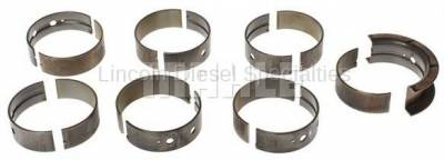 Engine - Pistons & Rings - Mahle OEM - Mahle Dodge/Cummins 5.9/6.7L, High Performance H-Series Main Bearing Set (.25mm Undersized)(1989-2018)