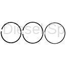 Engine - Pistons & Rings - Mahle OEM - Mahle Dodge/Cummins 6.7L Ring Set for Single Piston (.020 Over) (2007-2018)