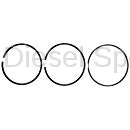 Engine - Pistons & Rings - Mahle OEM - Mahle Dodge/Cummins 6.7L Ring Set for Single Piston (.040 Over) (2007-2018)