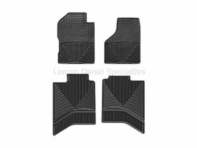 2003-2004 24 Valve, 5.9L Early - Interior Accessories - WeatherTech - WeatherTech All-Weather Floor Mats, Quad Cab Front and Rear, Dodge Ram (2003-2012)