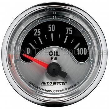 Instrument Gauges/Pods/Hardware - Gauges - Auto Meter - Auto Meter Air Core Series, 2-1/16, Oil Pressure , 0-100 PSI