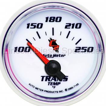 "Instrument Gauges/Pods/Hardware - Gauges - Auto Meter - Auto Meter C2 Series, 2-1/16"" Transmission Temperature, 100-250F (Universal)"