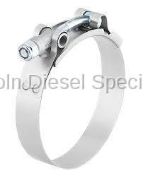 Cooling System - Hoses, Hose Kits, Pipes & Clamps - Lincoln Diesel Specialities - LDS Stainless Steel T-Bolt Clamp (Universal)