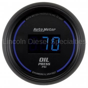 Instrument Clusters/Gauges - Gauges - Auto Meter - Auto Meter Cobalt Digital Series, Oil Pressure, 5-100 PSI, (Universal)