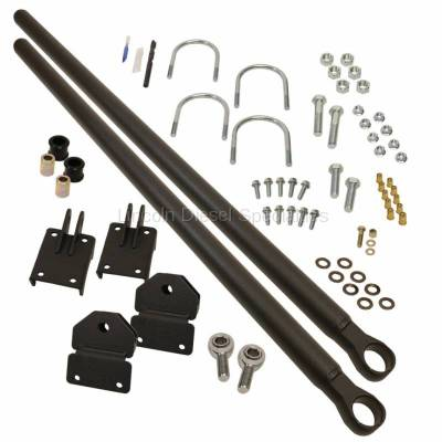 2003-2004 24 Valve, 5.9L Early - Suspension - BD Diesel Performance - BD Diesel Dodge/Cummins Traction Bars Kit w/o OEM Rear Airbags (2003-2018)