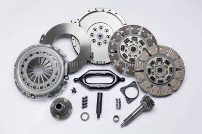 Transmission - Manual Transmission Clutches - South Bend Clutch - South Bend NV4500 Multi-Friction Dual Disc Clutch Kit, 650HP