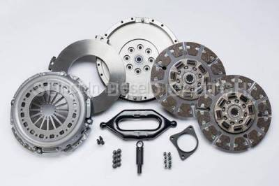 Transmission - Manual Transmission Clutches - South Bend Clutch - South Bend NV4500 Full Organic Street Dual Disc Clutch, W/Input Shaft 30K TOW  (1988-2004)