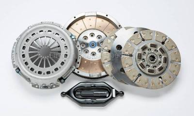 Transmission - Manual Transmission Clutches - South Bend Clutch - South Bend NV5600 Full Ceramic Dual Disc W/ Sprung Hub, 800 HP (2000.5-2005.5)